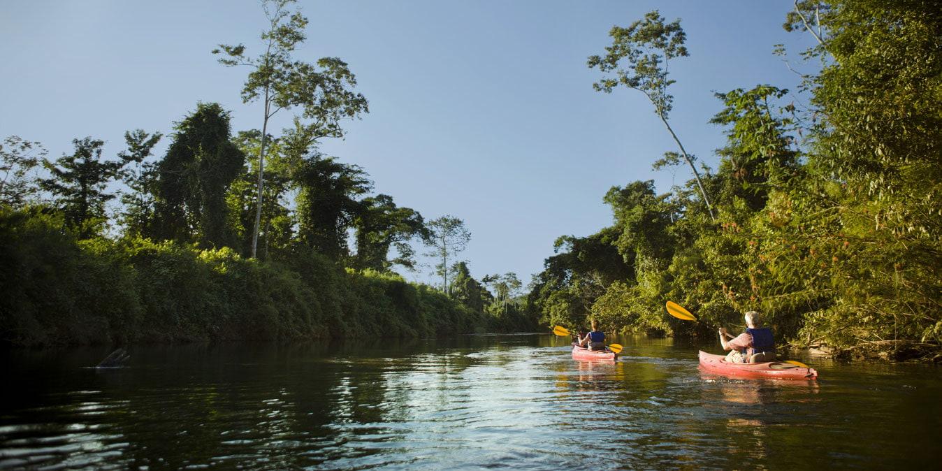 Kayaking in Belize